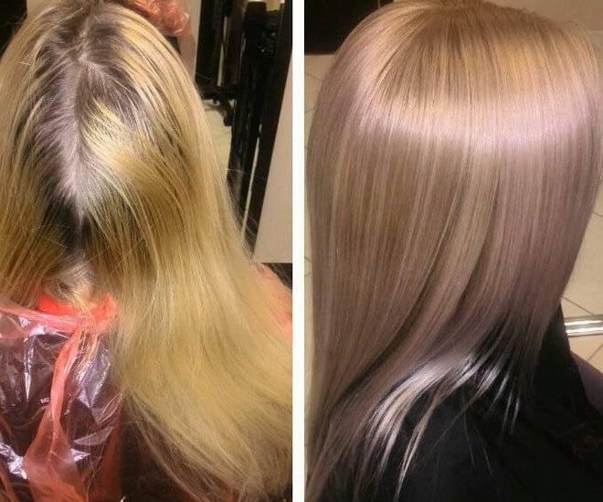 Покраска в блонд: техника окрашивания, советы по выбору краски, стойкость, фото
