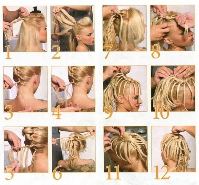 Заплетаем косы самой себе: 20 способов для начинающих — правильный уход за волосами