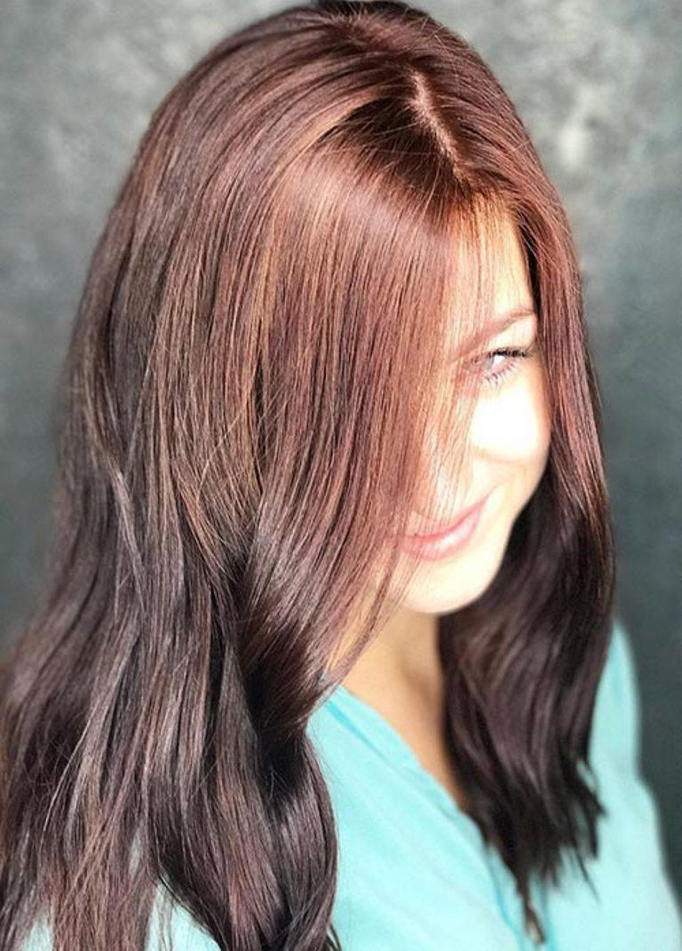 Цвет волос каштан. как найти свой оттенок?