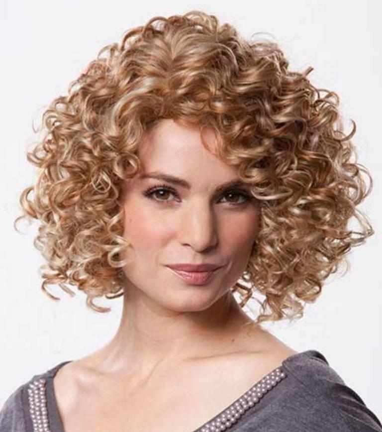 Биозавивка волос на короткие, средние и крупные локоны