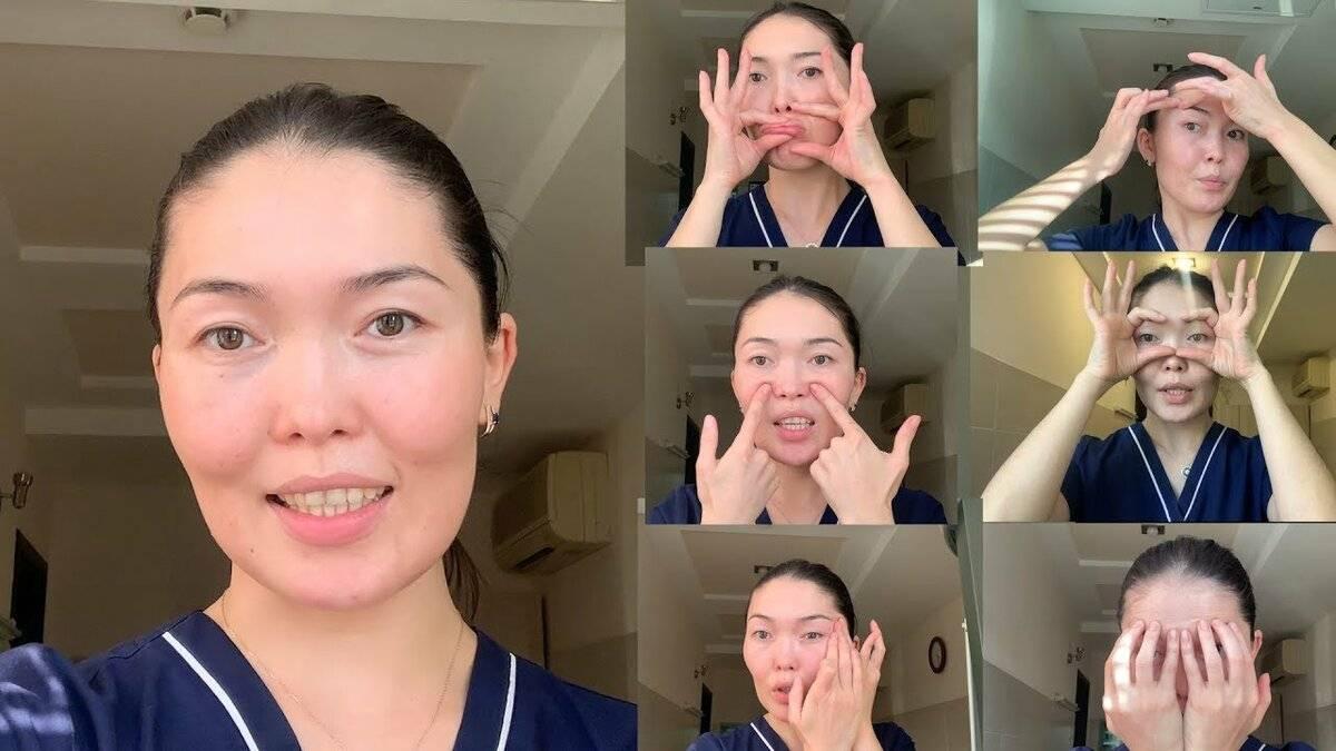 Японская гимнастика для лица от морщин и отеков: техника, видео, отзывы