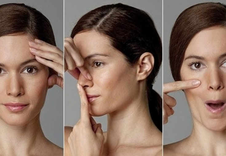 Упражнения для век и кожи вокруг глаз: против нависания и западания, от морщин - гусиных лапок, как подтянуть верхние веки гимнастикой и массажем, омоложение глаз