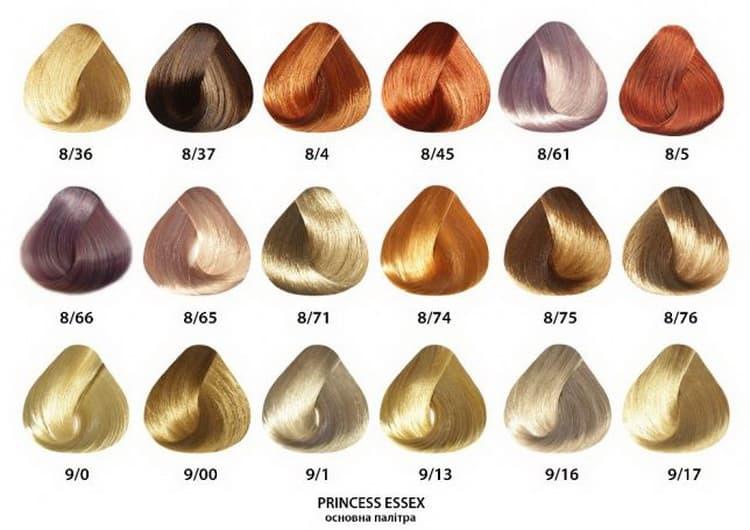 Профессиональная краска estel для волос – палитра и отзывы