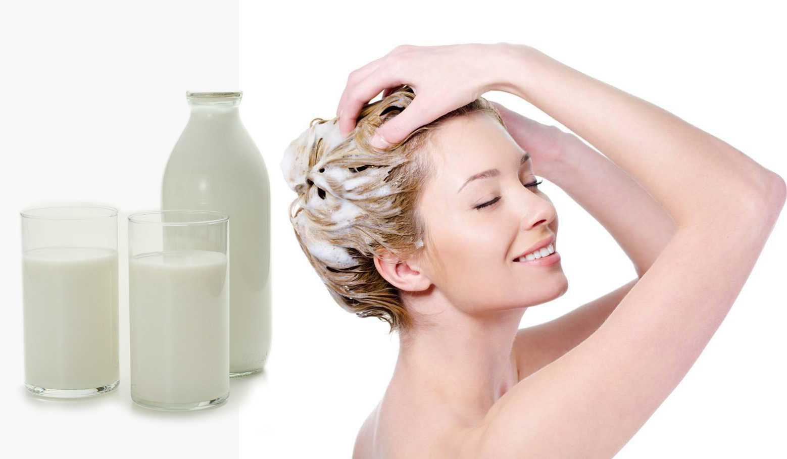 Молочная сыворотка для волос: рецепты масок