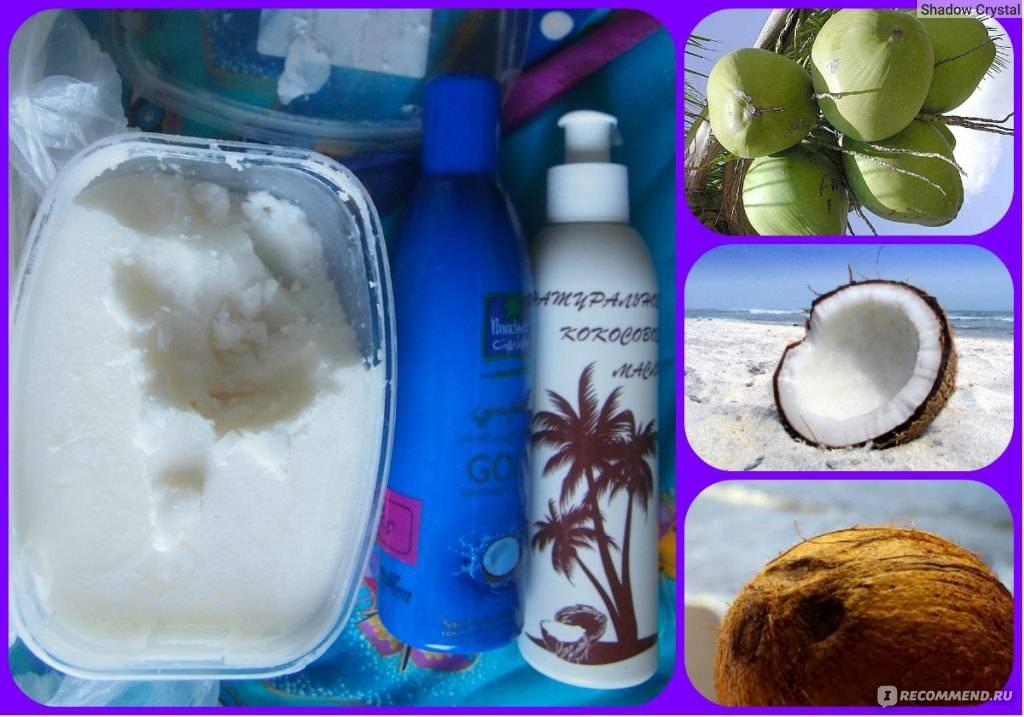 Возрождение бровей и ресниц с помощью кокосового масла