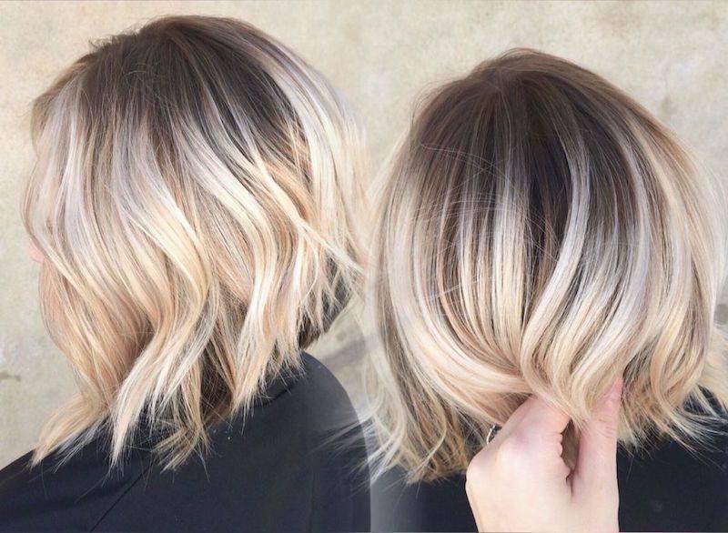 2021 модное окрашивание стрижки для светлых и темных волос по цветотипу и тенденциям