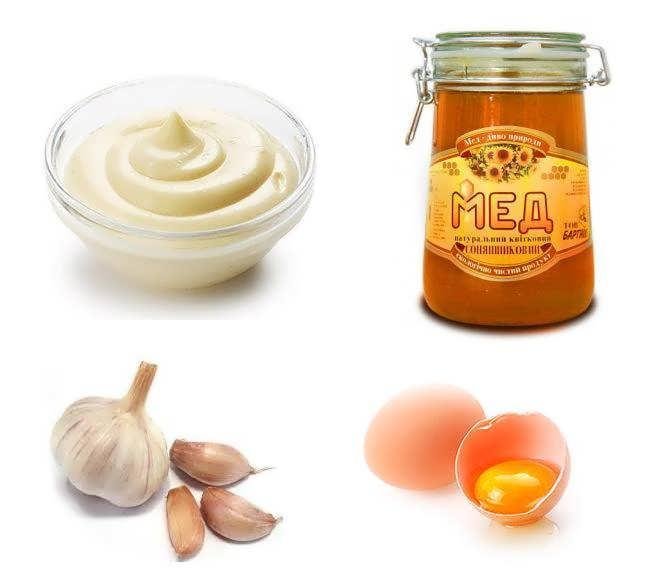 Маска для волос мед, яйцо и оливковое масло