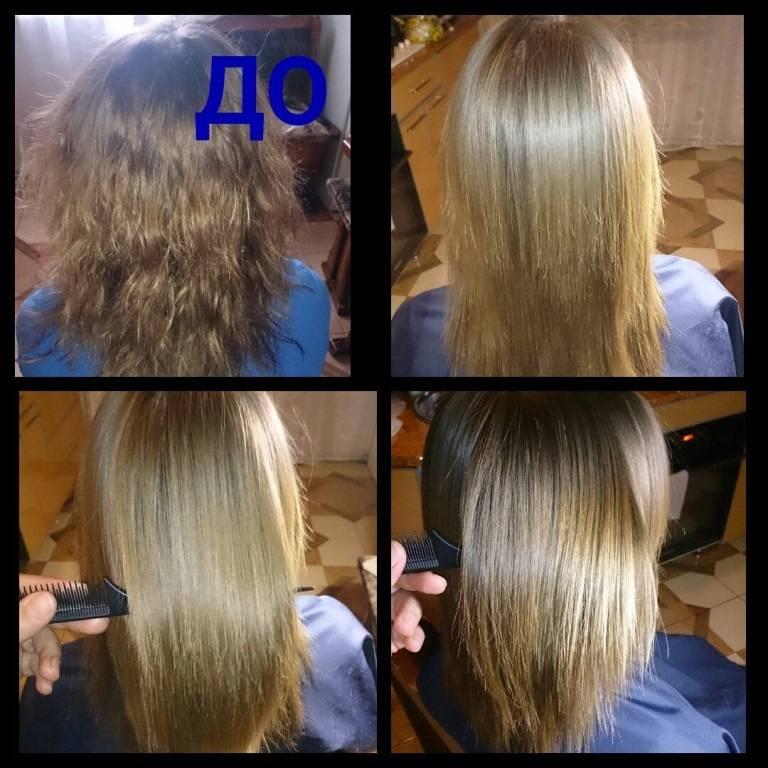 Как должны выглядеть волосы после кератинового выпрямления, а как – нет? фото, советы по решению проблем
