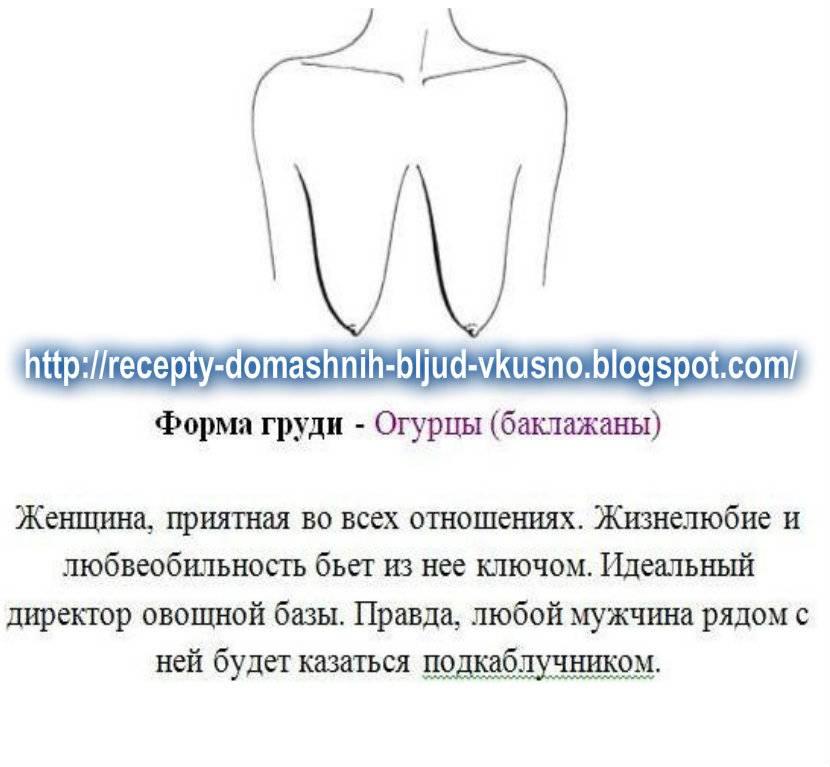 Форма женской груди: среднестатистические типы и идеальный бюст