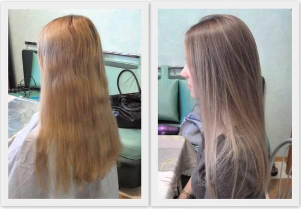 Как закрасить мелированные волосы в темный цвет. как покрасить волосы после мелирования
