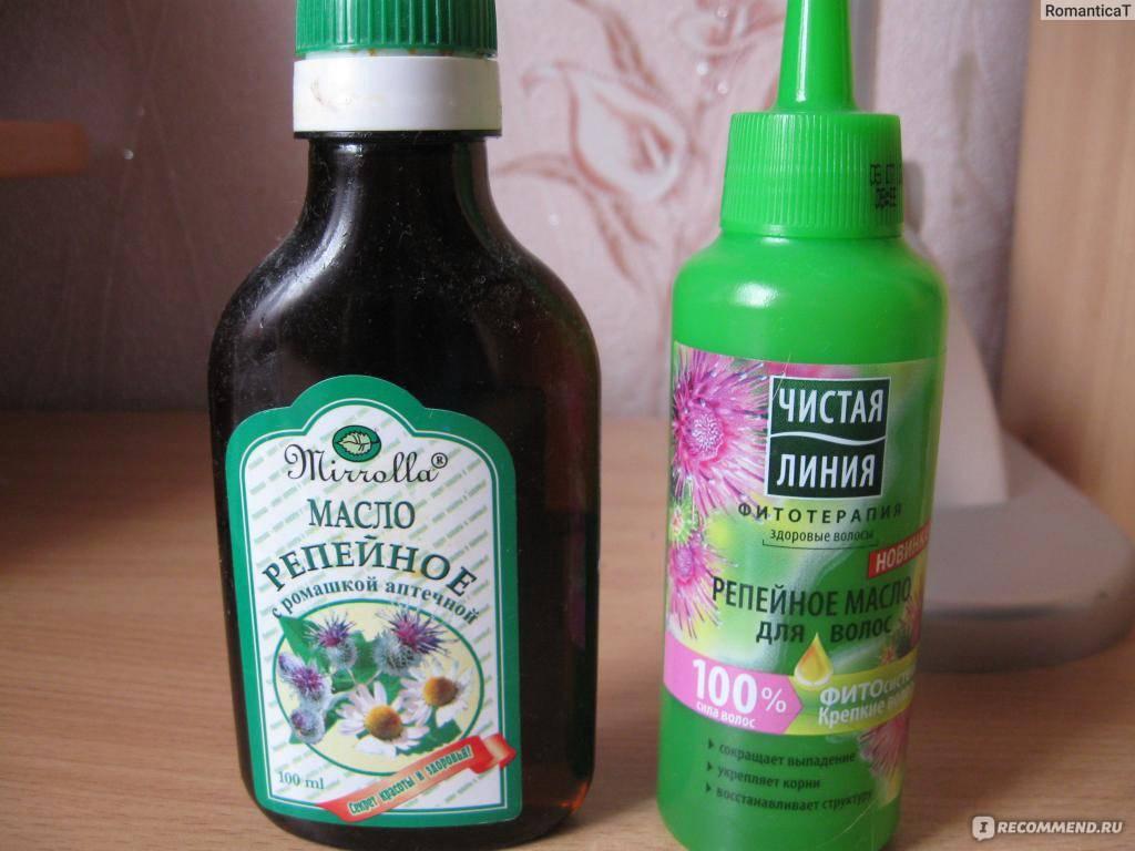 Подарок волосам от природы - репейное масло. топ-5 средств и нюансы использования
