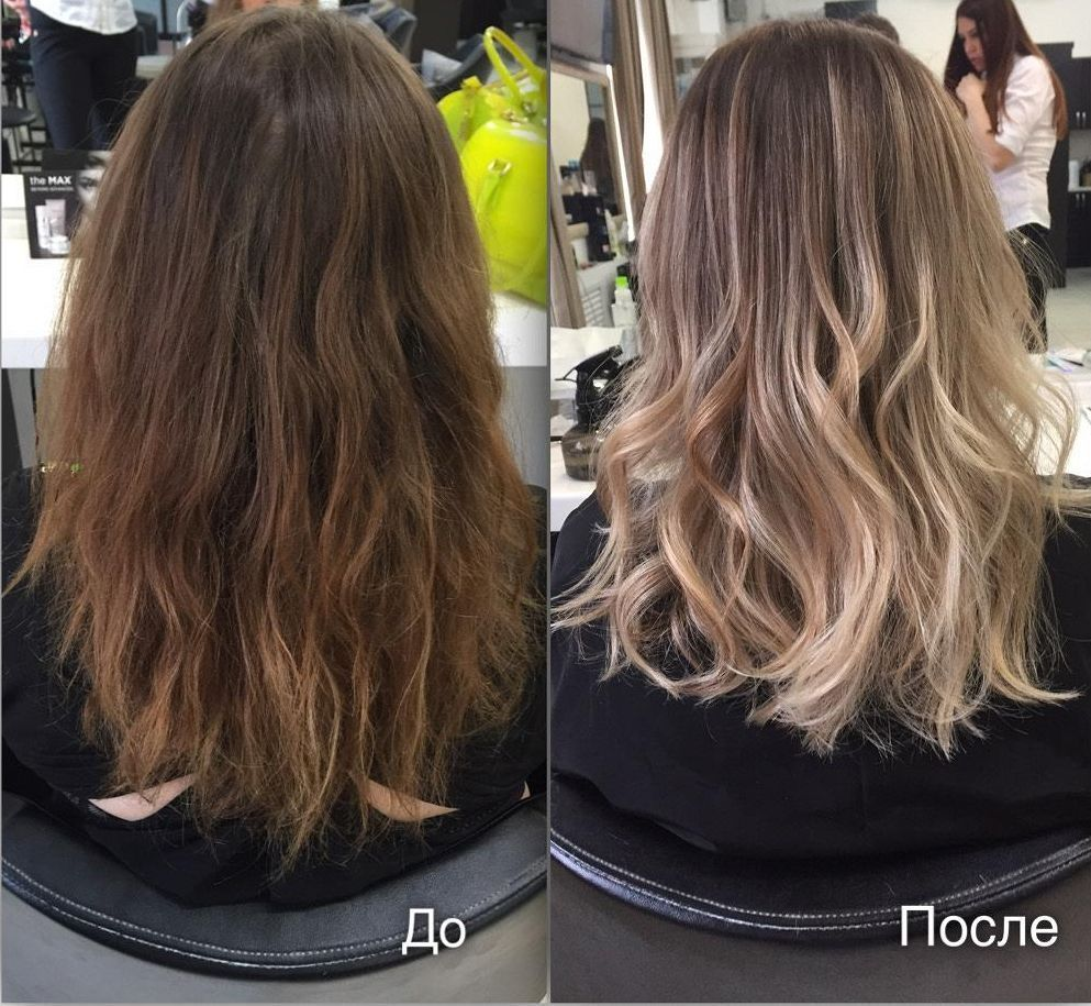 Техника брондирования на темные и светлые волосы