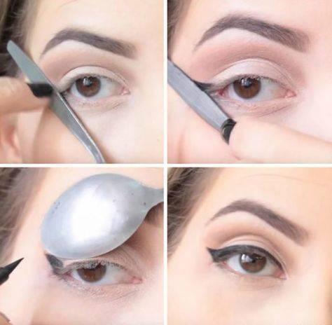 Стрелки на глазах карандашом. пошаговая инструкция, фото для разного типа глаз, с нависшими веками, с опущенными уголками. мастер класс для начинающих