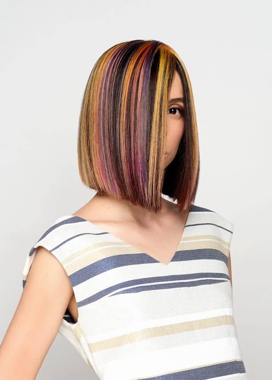 Колорирование волос: фото на темные и светлые волосы в 2018 году