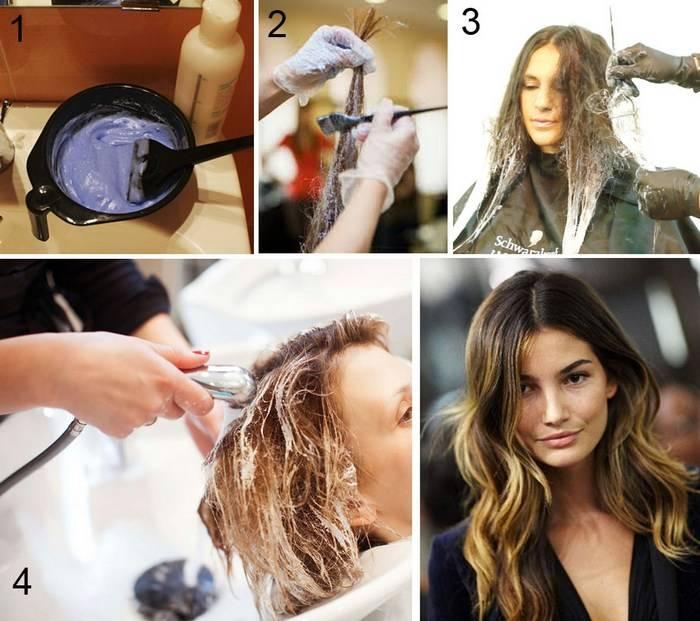 Особенности окрашивания коротких волос в технике омбре в домашних условиях: пошаговая инструкция и фото результата