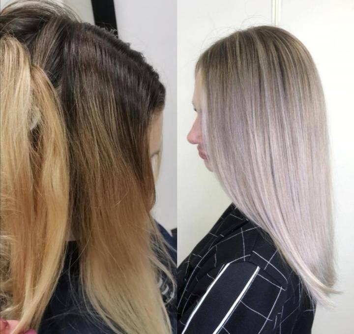 Airtouch: особенности и техника окрашивания темных и светлых волос