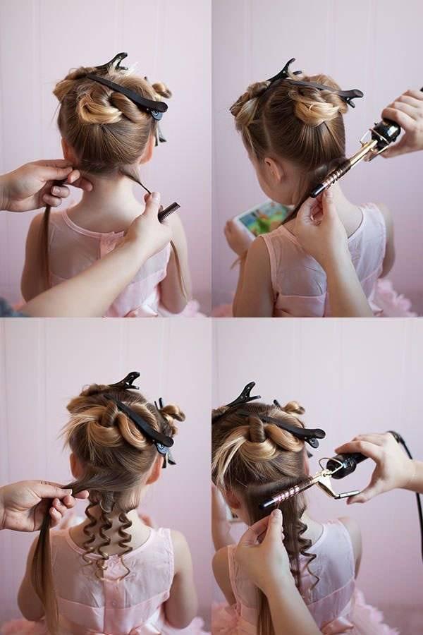 Как сделать локоны на короткие волосы в домашних условиях