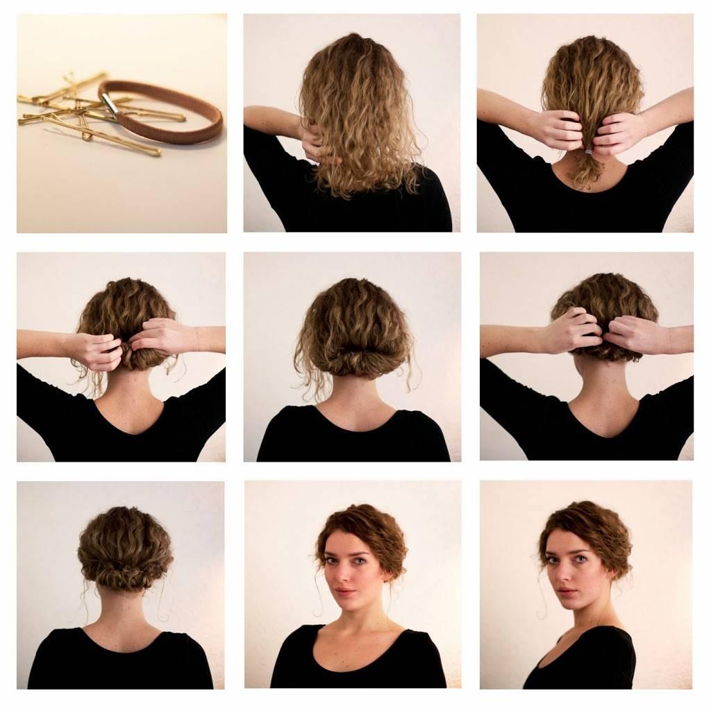 Прически для коротких волос, которые легко сделать дома по пошаговым видео - все курсы онлайн