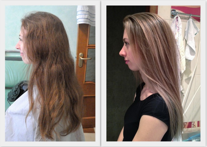 Окрашивание волос в блонд: виды и технология выполнения