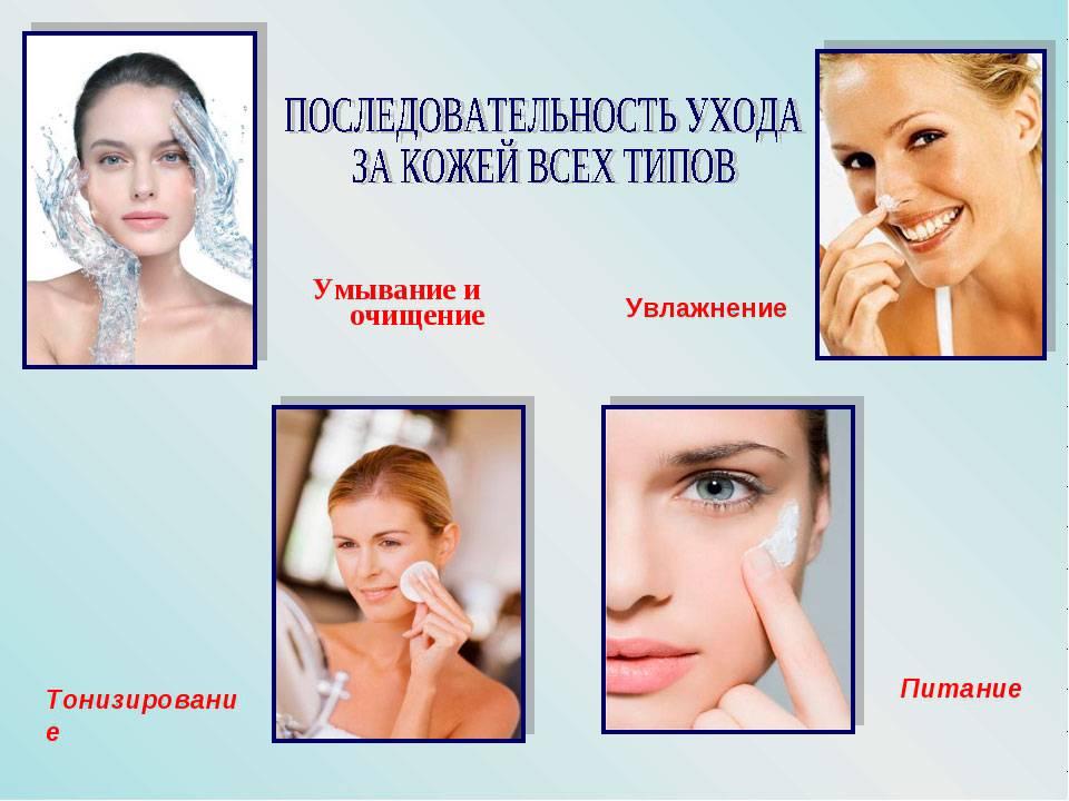 Домашний уход за кожей лица, этапы комплексного ухода за кожей лица в домашних условиях: выбор средств и косметики
