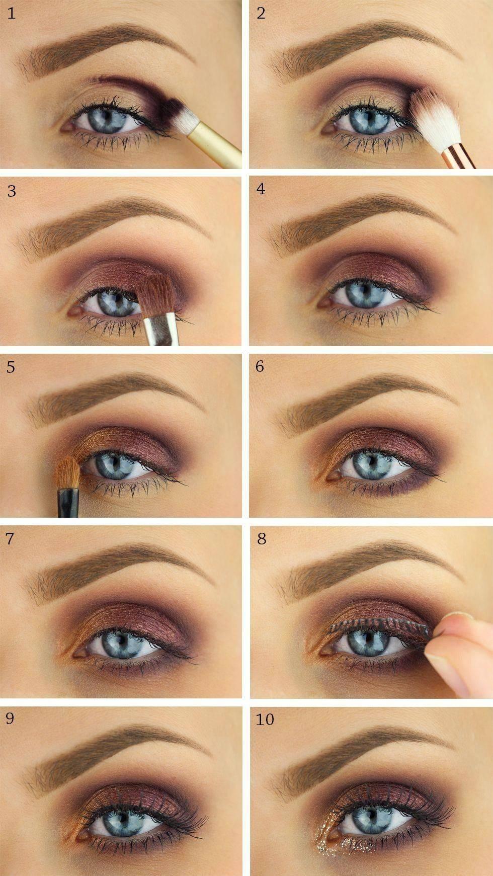 Растушевка теней на глазах – пошаговая инструкция для начинающих