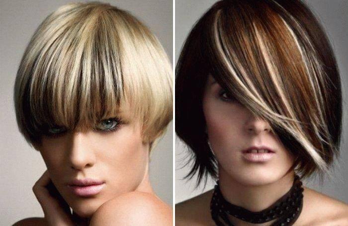 Схема окрашивания волос – как сделать колорирование самостоятельно дома