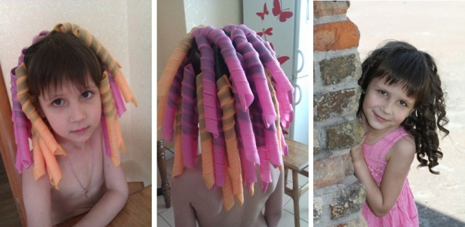 Прически на короткие кудрявые волосы девочке на каждый день. фото, как сделать пошагово