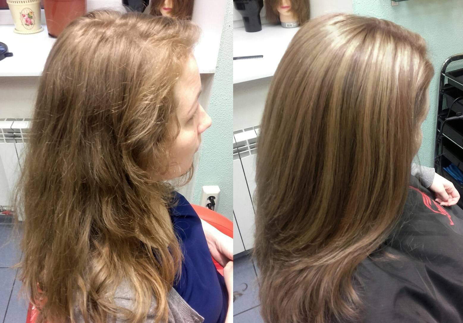 Брондирование волос на темные, светлые и русые волосы в домашних условиях и салоне: техника выполнения. примеры брондирования с фото до и после, цены на услугу и отзывы
