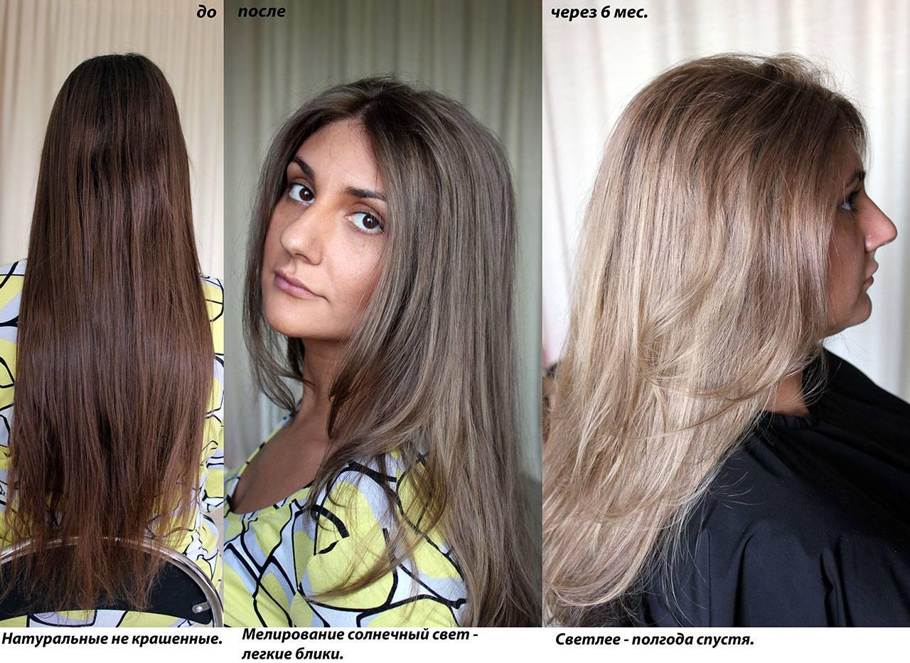 Исправление неудачного мелирования — как закрасить волосы в свой или темный цвет?