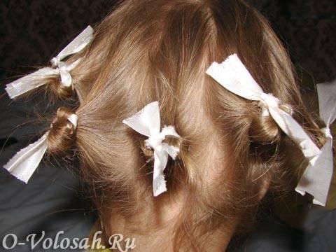 Прически для девочек на длинные волосы в домашних условиях