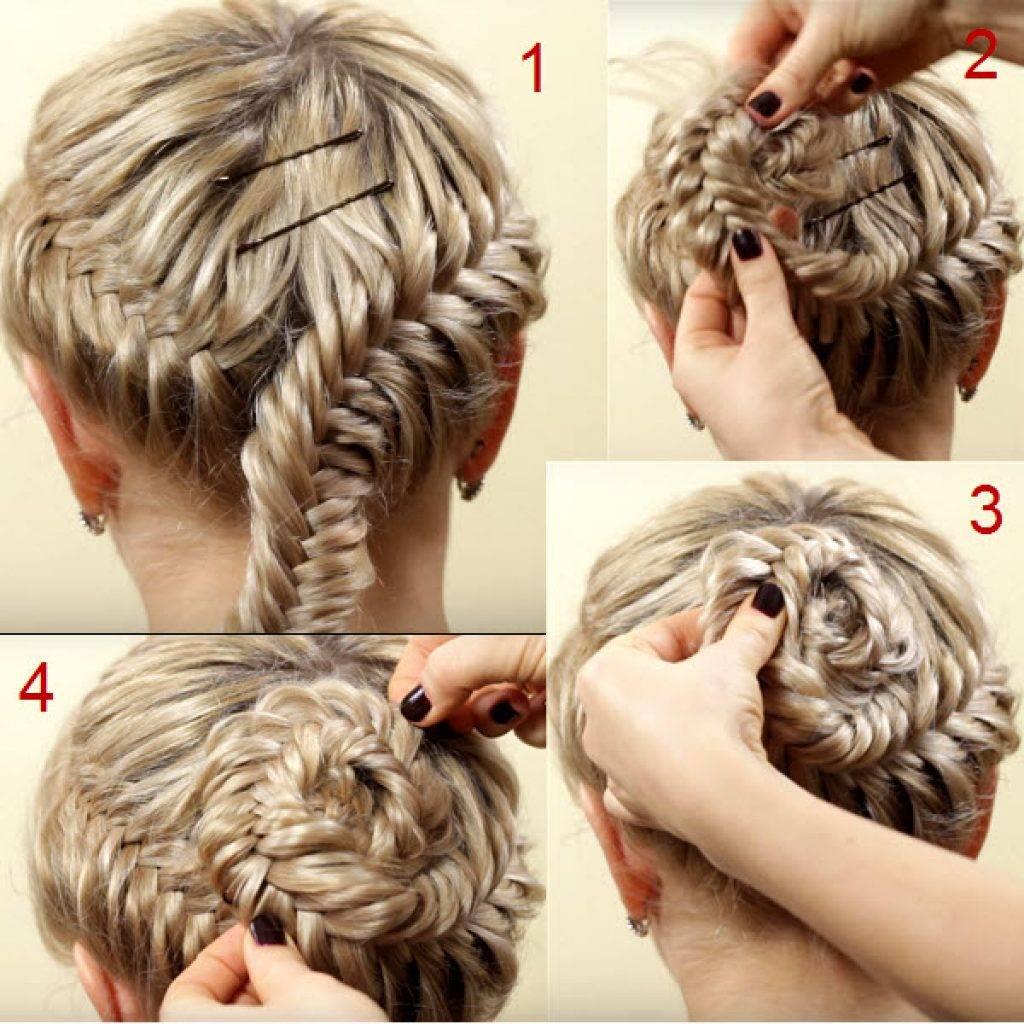 100 причесок из косичек для девочек с пошаговыми фото — правильный уход за волосами