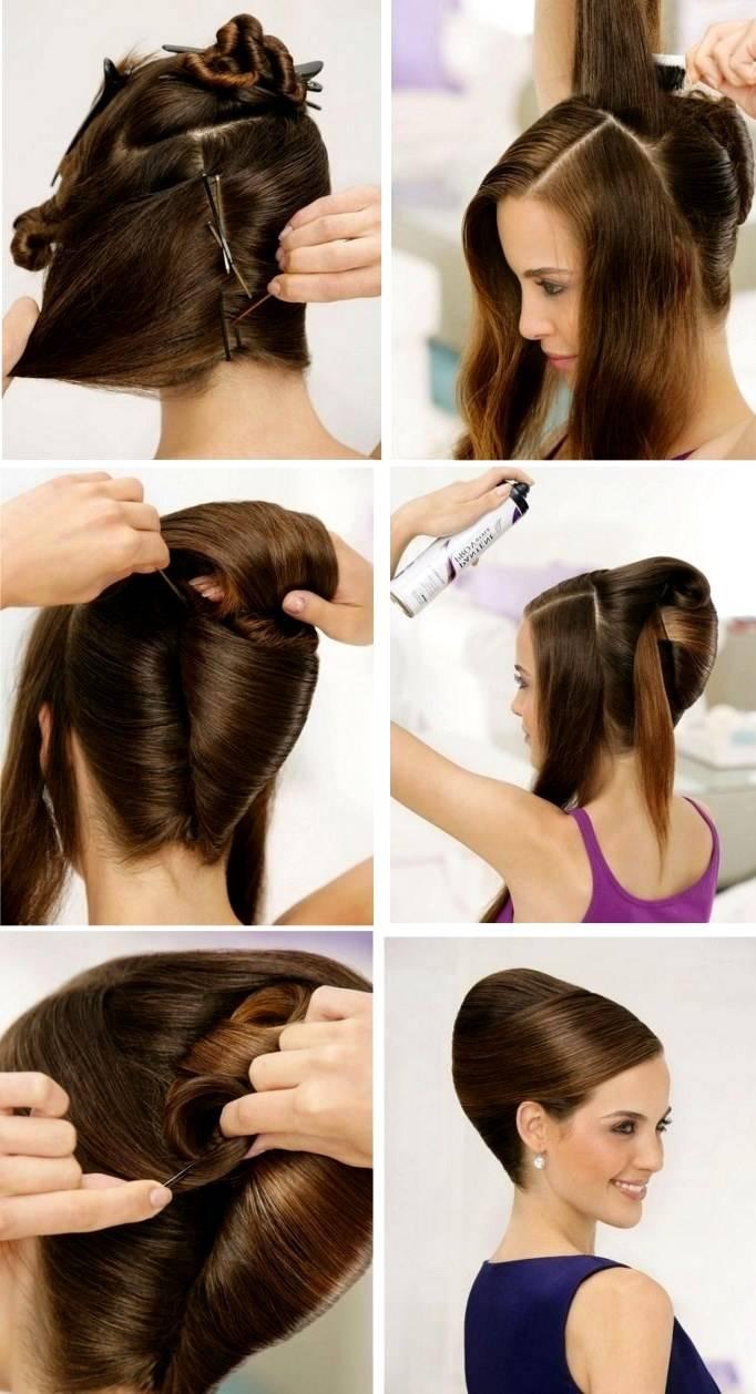 Бантик из волос: пошаговая инструкция, как сделать прическу
