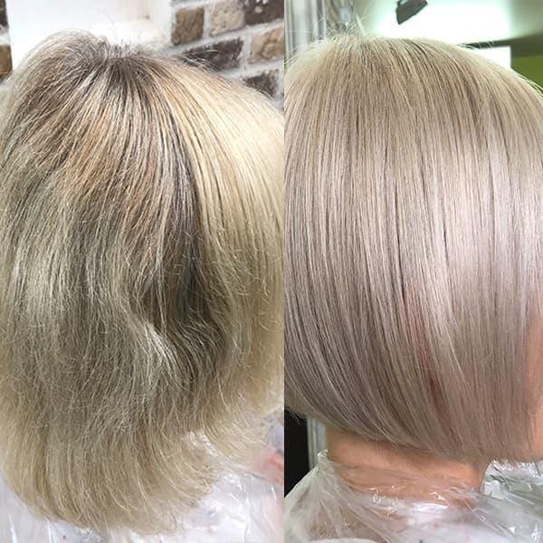 Тонирование на русые волосы: способы и техника покраски