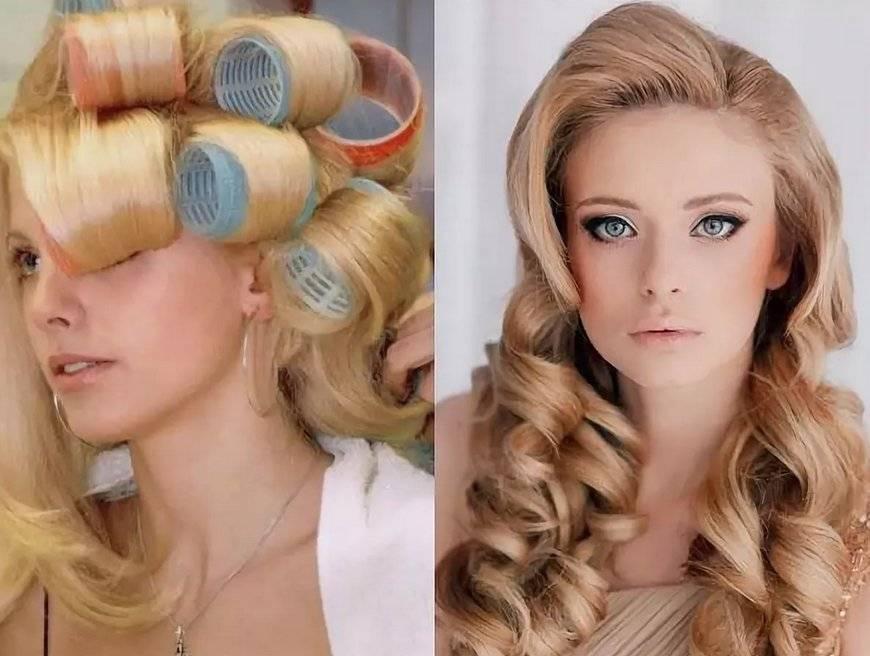 Локоны на средние волосы. как сделать кудри, голливудские, объемные локоны. как сделать крупные локоны: практические советы