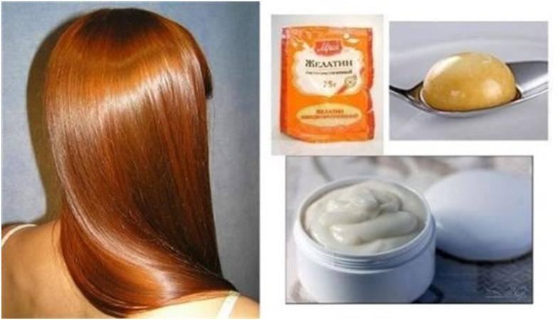 Как сделать ламинирование волос желатином дома