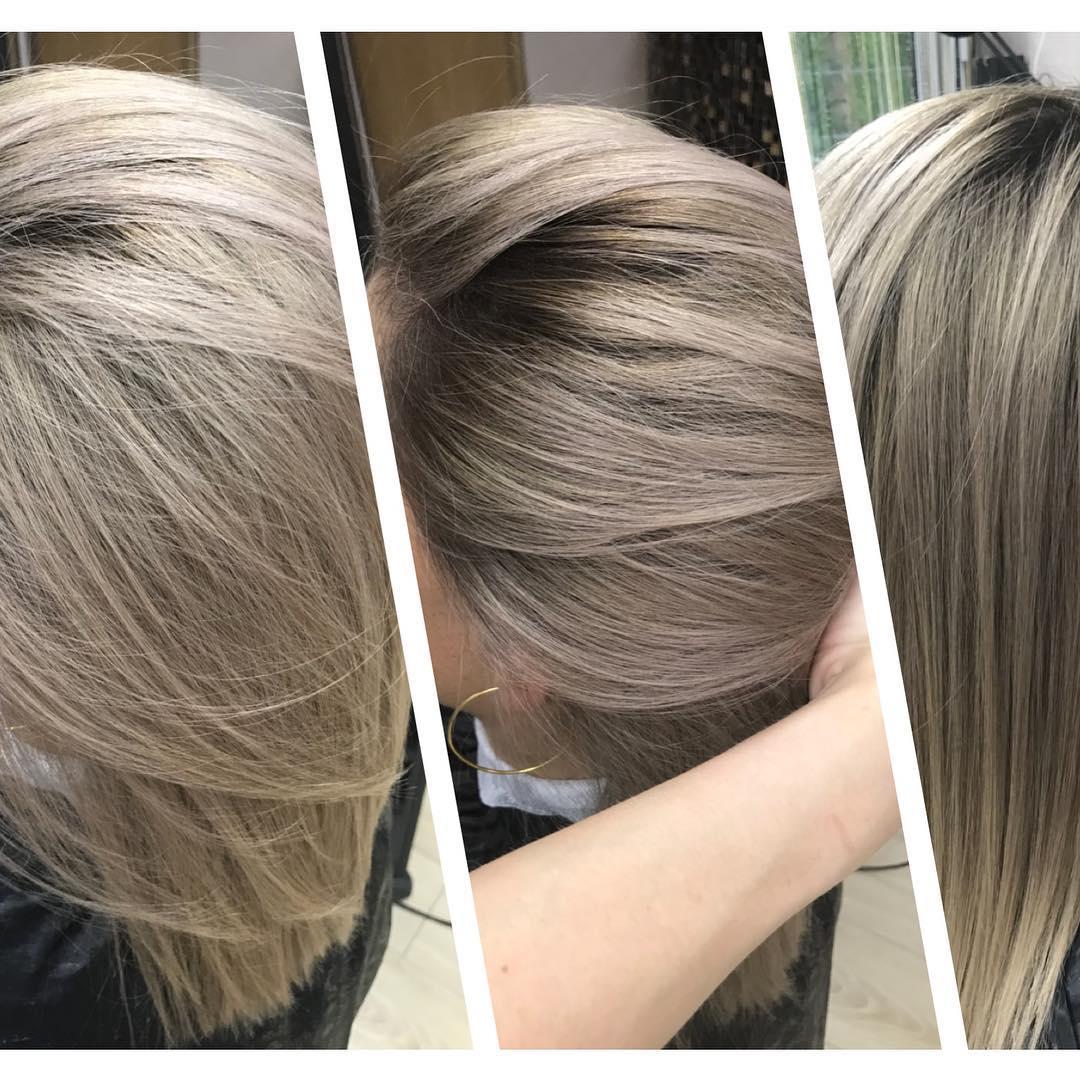 Какой краской убрать желтизну с волос и не навредить локонам