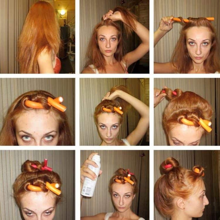 Как правильно накрутить волосы на бигуди, на длинные и короткие волосы