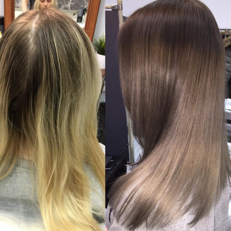 Если осветленные волосы покрасить в русый. как закрасить высветленные волосы. как покрасить обесцвеченные волосы