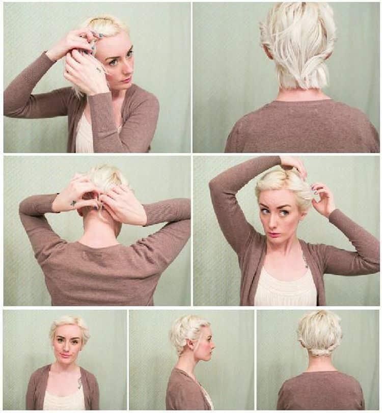 Короткая стрижка дома (17 фото): как сделать женскую стрижку самой себе пошагово?