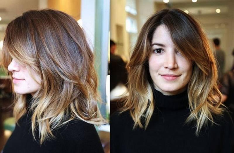 Балаяж на короткие волосы: фото, техника окрашивания  — ruxa