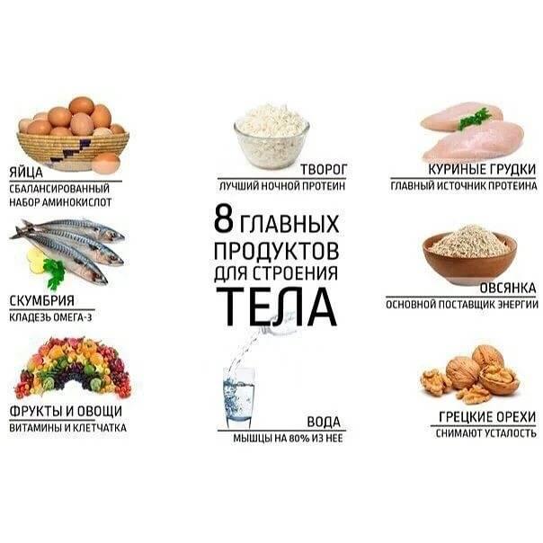 Основы правильного питания девушкам для набора веса дома