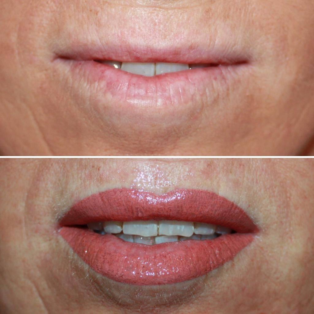 Татуаж губ: плюсы и минусы перманентного макияжа