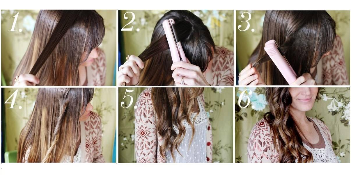 Легкие локоны (50 фото): как сделать воздушные волны на волосах средней длины в домашних условиях? завивка без плойки и с помощью утюжка