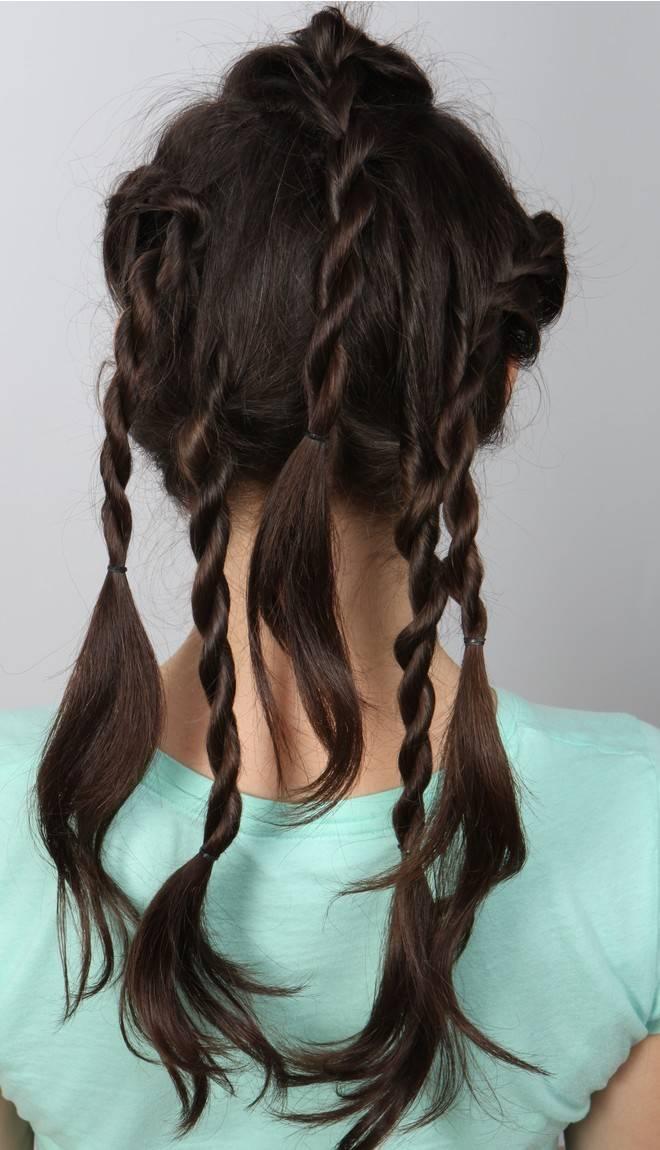 Прически, подходящие для наращенных волос