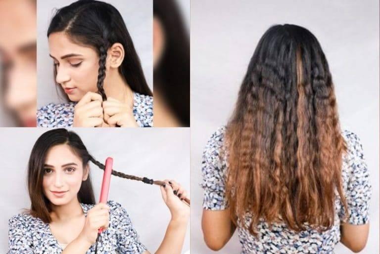 Как сделать кудри на мокрые волосы на ночь: простые и легкие методы