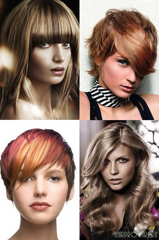 Колорирование на светлые и русые волосы: фото, особенности и нюансы окрашивания