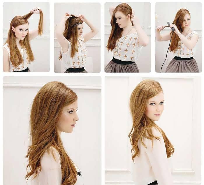 Прическа «хвост» для девушек: варианты для длинных и средних волос