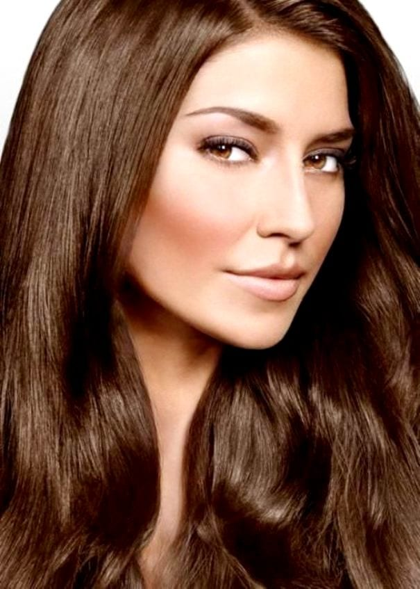 Каштановый цвет волос - оттенки, выбор краски и как покрасить в домашних условиях