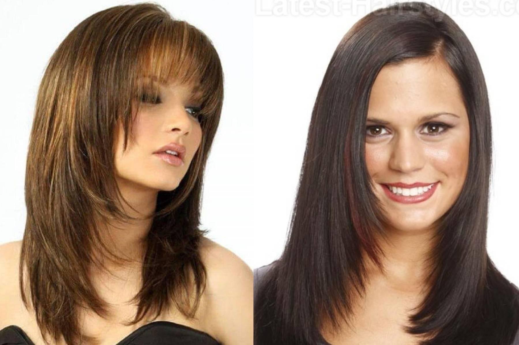Cтрижки на средние волосы: 10 новинок! (фото)