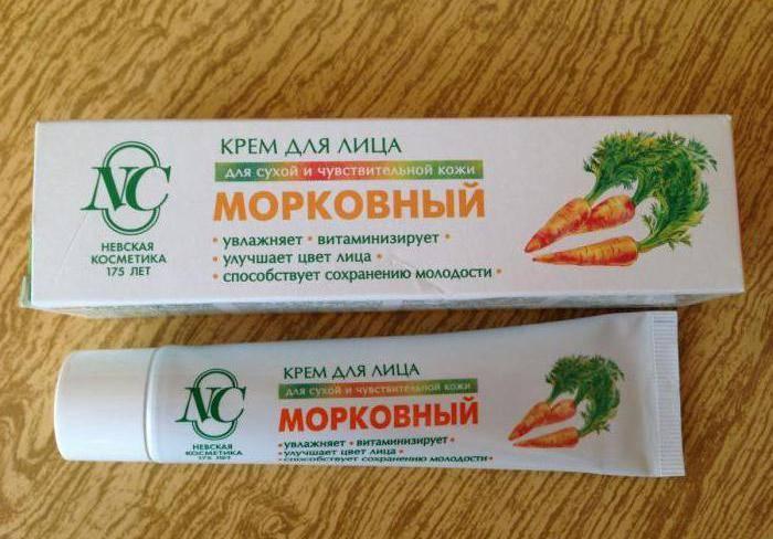 Морковный крем невская косметика купить косметика dzintars купить в москве